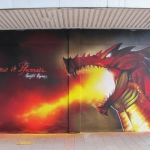 Dragon-Graffiti-Cardiff-Peaceful-Progress