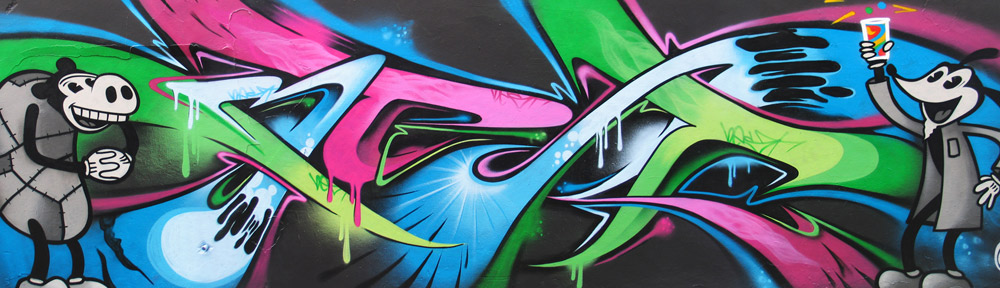 Peaceful Progress – Graffiti Art, Cardiff, Wales, UK. Graffiti workshops, commissions, vehicle artwork, bedroom murals, Graffiti artists for hire.