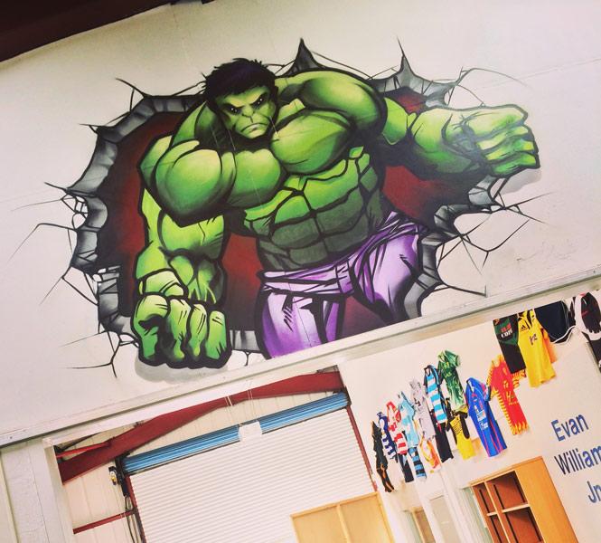 Hulk-Graffiti