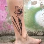 Daffodil-tattoo-2