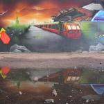 derelict-train-reflection