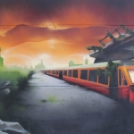 derelict-train