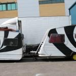Graffiti-caravans